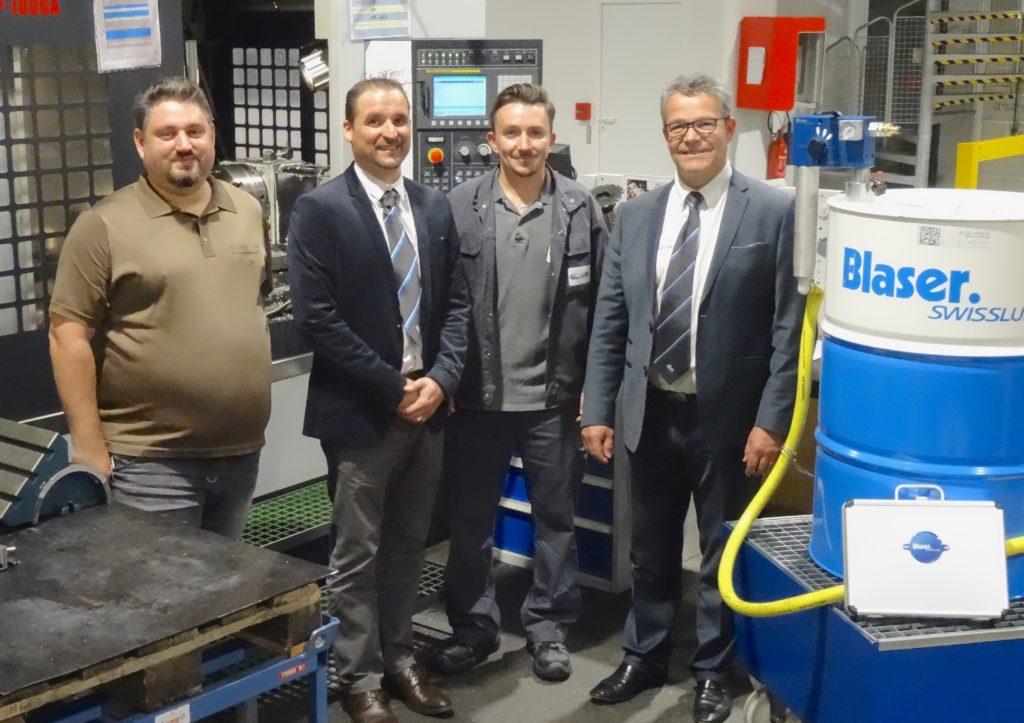 Equipe EP Meca et Blaser Swisslube : une véritable stratégie de lubrification gagnante