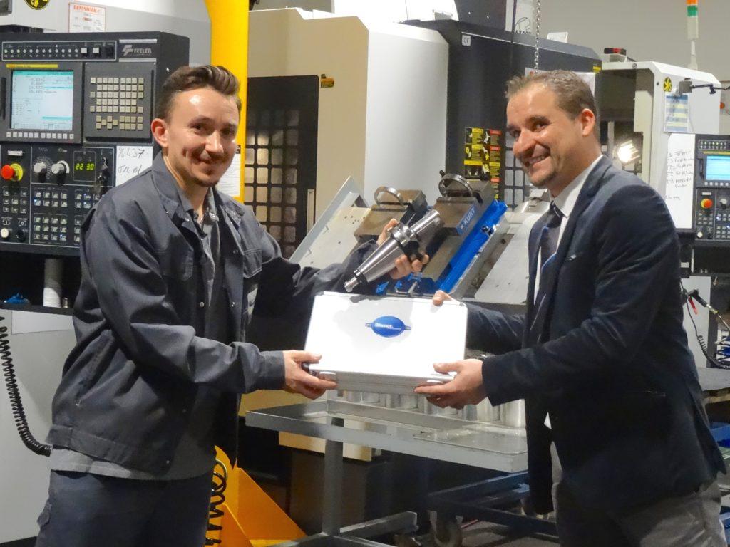 Thibault Hariche et Laurent Duchon, partenariat gagnant pour l'amélioration des process de lubrification de coupe