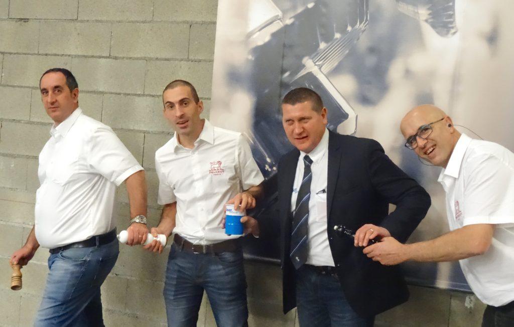 Partenariat Blaser Swisslube Peugeot Saveurs SNC