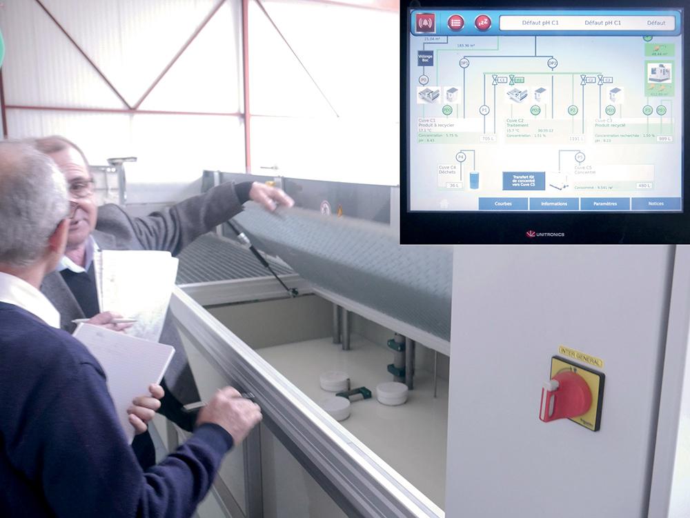 Au cœur du process 4.0 du recyclage et de la gestion automatisée du lubrifiant
