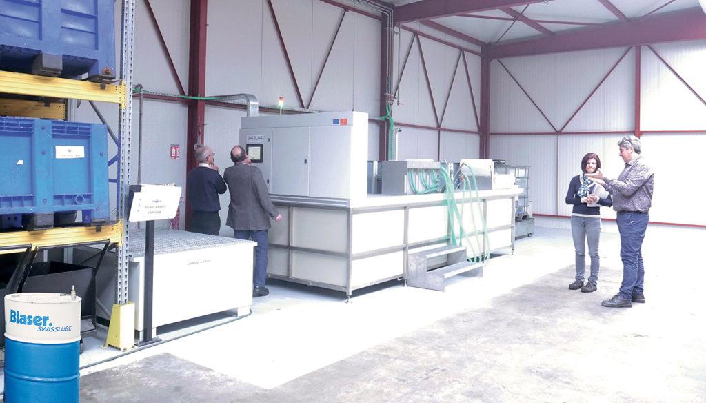 Installation Recyclage du lubrifiant 4.0